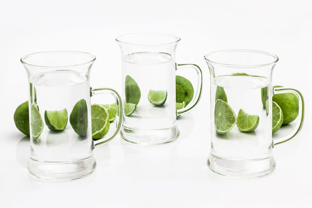 glass, drink, water
