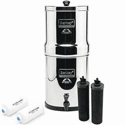 Big Berkey countertop gravity water filter system