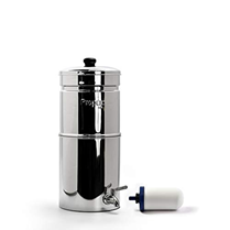 Propur traveler countertop gravity water filter system