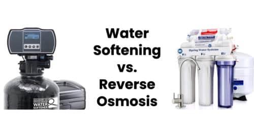 Water Softening vs. Reverse Osmosis