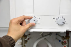 water heater temperature