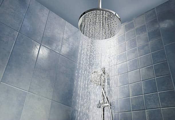 showerhead rain