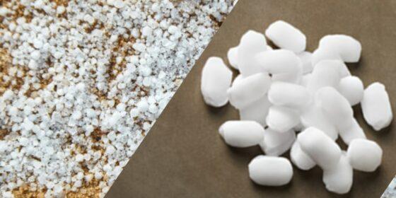Salt Pellets vs Crystals